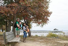 Visiting Leesylvania State Park as a family: First park visit (vastateparksstaff) Tags: fall water bench children babies hiking families