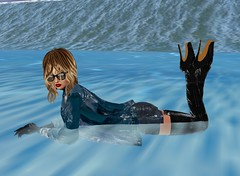 97 (SoakinJo) Tags: thighboots balletheels wetlook wetclothes imvu wetdenim surfinginheels