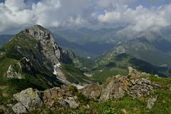 Catharsis (matteo.buriola) Tags: panorama trekking nikon hiking crete di 1855 carnia alpi montagna vette cima friuli carniche timau avostanis d3100
