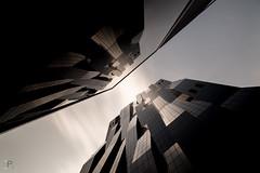 DC TOWER (Jrmie POUTRAIN) Tags: jeremie poutrain vienne wien vienna austria relection tower high cloud cloudy long exposure reflect time travel dominique perrault architecture skyscraper