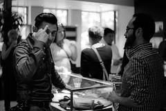 6943-13Crop (furcafe) Tags: 20130907 washingtondc downtown galleryplace galleryplacechinatown leicastore celebratingchim opening chim davidseymour magnum aziz fujineopan400320 voigtlander5015noktonltmc195155 nicca5ltower4546c195558