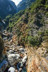Taiwan-121115-389 (Kelly Cheng) Tags: travel tourism nature rock vertical landscape daylight asia day outdoor taiwan vivid nobody nopeople tarokonationalpark tarokogorge  traveldestinations  northeastasia