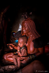 Mother and Child 8634 (Ursula in Aus - Away) Tags: otjomazeva himba africa namibia environmentalportrait