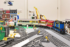 MOC touristic train (Ivan Furlanis) Tags: city train lego zug treno moc