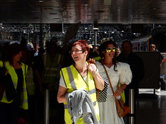 Lime Street Hen (deltrems) Tags: street girls party woman station train liverpool women rail railway lime hen limestreet merseyside limestreetstation henparty
