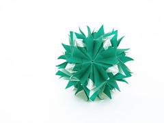 !!!   !!! (masha_losk) Tags: paper origami squares symmetry foliage folded paperfolding modularorigami kusudama unitorigami
