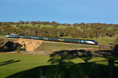 Cold XP's approaching Yass (JungleJack22) Tags: city trip railroad up station electric set train tren pull la die afternoon power carriage diesel transport traction performance sydney platform engine eisenbahn rail railway loco australia melbourne pickup run el junction line rails xp multiple locomotive interstate passenger load treno leading engineer freight appliance grunt intercity bogie kw locos 2010 unit yass wangaratta taree 2015 dmu  tailing  trainlink gunzel trane xp2010 xp2015 gunzelling  coutrylink gunzeller