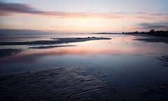 Pastel (Appe Plan) Tags: ocean city sunset sky sun motion lund reflection beach nature water clouds landscape skne big movement nikon soft long exposure sweden silk filter le lee nd ripples setting drift stopper appe d700