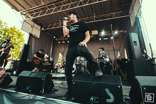 24/06/2016 - Silverstein at Amnesia Rockfest // Shot by Lori Gutman