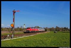DB 218 380, Rinsum-Lindholm 04-05-2016 (Henk Zwoferink) Tags: db sylt henk duitsland schleswigholstein 380 218 westerland niebll br218 fernverkehr risumlindholm zwoferink