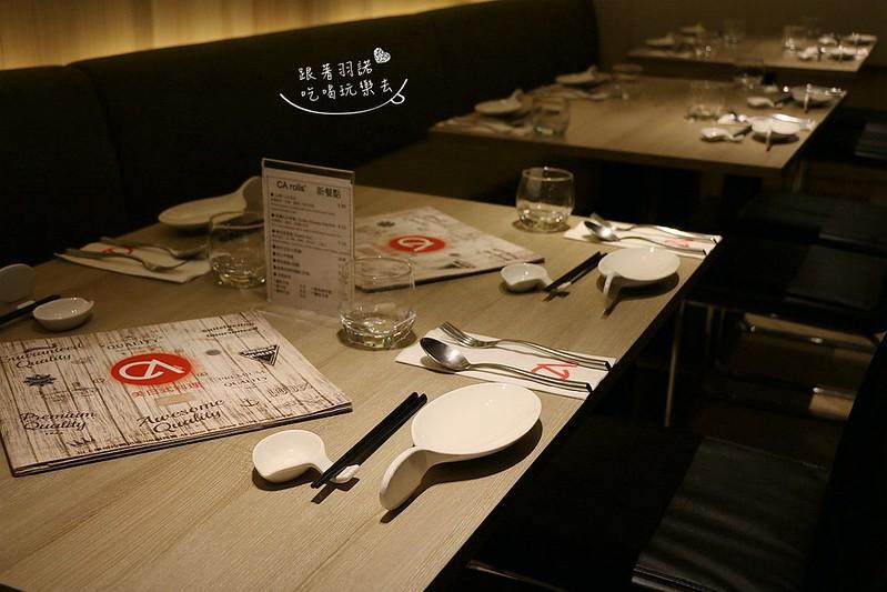 CA rolls 高級美日式創意料理天母棒球場美日式018