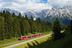 Karwendel (ES64U2 064) Tags: db talent emu alpen garmischpartenkirchen 442 karwendel klais 2442 werdenfels karwendelbahn dbregio talent2 alpenbahnen werdenfelsbahn dbregiowerdenfels