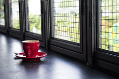 Empty Red Cup (Mioutia) Tags: coffee food stilllife object