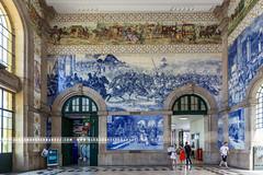 Estao So Bento (Alexandre66) Tags: portugal porto gare station 2016 canon 5d mkiii 1635mm f28 l usm ville city fresques azulejos intrieur