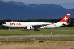 Swiss  Airbus A330-343E HB-JHK (widebodies) Tags: genf geneva gva lsgg widebody widebodies plane aircraft flughafen airport flugzeug flugzeugbilder swiss airbus a330343e hbjhk