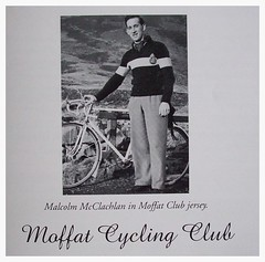 Malcolm McLachlan. (Paris-Roubaix) Tags: street david andy bicycle club vintage cycling flying malcolm glasgow scottish racing bicycles scot co fraser ltd murray mclachlan moffat rattray