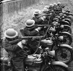 "British Army motorcyclists • <a style=""font-size:0.8em;"" href=""http://www.flickr.com/photos/81723459@N04/16169161444/"" target=""_blank"">View on Flickr</a>"