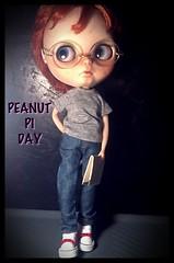 Blythe-a-Day March#14: Pi: A Little Boy Nicknamed Peanut Triumphs