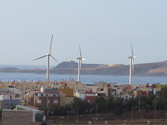 No wind (Risager) Tags: windmills grancan elburrero