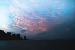 Fortaleza (tekhiun) Tags: ocean sunset sea brazil people praia beach brasil mar fortaleza ceara