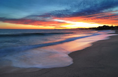 Premi de Mar (Gatodidi) Tags: barcelona espaa costa azul landscape atard
