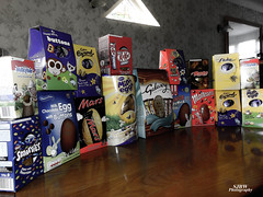 UK Easter Eggs (StevieOnline) Tags: uk england mars festive easter candy chocolate flake caramel galaxy smarties gift british snacks tradition cadburys kitkat rolo maltesers eastereggs minieggs chocolatebuttons milkybar