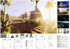 SUNSEEKER_Las Aves Playeras [Brockmans+Pimentel+Roman] Dominican Republic (rethinkingcompetitions) Tags: sea architecture project arquitectura surfer competition exhibition housing concurso temporary winners tarifa proyectos exposicin surferos temporales proposals ganadores propuestas rethinking alojamientos rehtinking