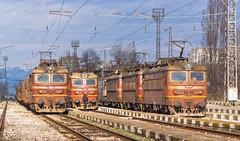 Jackpot 1 of 2 (BackOnTrack Studios) Tags: electric state sofia cargo class 45 bulgaria locomotive railways 44 46 43 bulgarian fabrika bdz zaharna