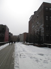 High Line Snow Covered Railroad Overpass Tracks to Nowhere 8341 (Brechtbug) Tags: road park street new york city nyc railroad winter urban snow streets west art architecture garden way design march high downtown gallery path walk manhattan district balcony packing side nowhere tracks overpass rail pedestrian mini el meat line midtown covered mezzanine transportation boardwalk former elevated blizzard derelict reclamation highline skyway redesign the remodeled 2015 03072015