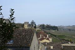 St Emilion, Bordeaux, France rooftops (lacafferata) Tags: france landscape nikon rooftops bordeaux vineyards limestone steeples winecountry terroir classicarchitecture d7100 francelanscapes