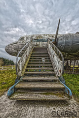 Ready for a flight (LaR0b) Tags: urban abandoned plane airplane lost fly decay exploring flight rusty explore exploration propeller hdr highdynamicrange ue urbex explored lar0b