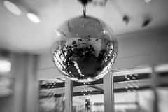 (sydney.rickman) Tags: blackandwhite bw white black coffee lensbaby disco kansas espresso mirrorball discoball wichita etgg espressotogogo