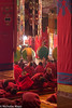 Young Monks In The Assembly Hall (Nick Mayo/RemoteAsiaPhoto) Tags: arunachalpradesh chanting drum drumming festival india monk monpa tawang