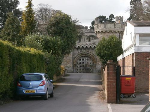 Devizes Castle, Wiltshire, England