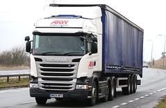 Scania R450 6x2 AKW MK64MFX  Frank Hilton 16032015 060 (Frank Hilton.) Tags: classic truck frank photos transport hilton lorry trucks
