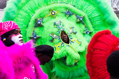 Mardi Gras Indian Super Sunday 2015, Sunday, March 15, 2015, New Orleans