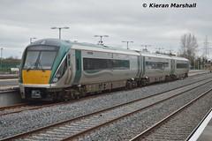 22002 at Hazelhatch, 4/4/15 (hurricanemk1c) Tags: irish train rail railway trains railways irishrail rok rotem 22002 2015 hazelhatch icr iarnród 22000 éireann iarnródéireann 3pce hazelhatchandcelbridge 1423hazelhatchheuston