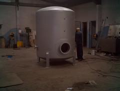 fabricacion tanque inox (Innovando Soluciones) Tags: spools de niples tuberia tanques empalme fabricacion bridas reducciones limg