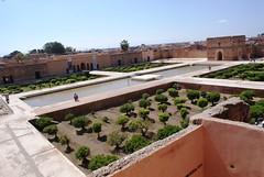 Bahi Palace Courtyard