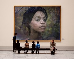 Ras-Kelly-PhotoFunia (Frizztext) Tags: portrait woman beauty face museum blackisbeautiful frizztext museumseries photofunia raskelly
