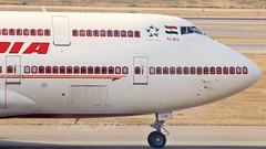 "Air India B747-400 VT-EVA ""Agra"" (Aiel) Tags: agra boeing hyderabad b747 airindia b747400 shamshabad canon60d vteva tamron70300vc"