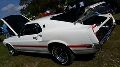 1969 Ford Mustang Mach 1 (Michel Curi) Tags: park music white classic cars ford vintage amusement florida antique festivals celebration entertainment rides fl mustang carshow carnivals pinellaspark machone countryinthepark lovefl