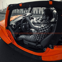 Crush Orange (dr.7sn Photography) Tags: street door roof sea orange sahara sport nikon jeep redsea fisheye professional saudi arabia jeddah removal crush without    wrangler        cornich    2013         d7100