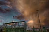 Asa's Field (Chains of Pace) Tags: sunset storm oklahoma sign clouds guymon