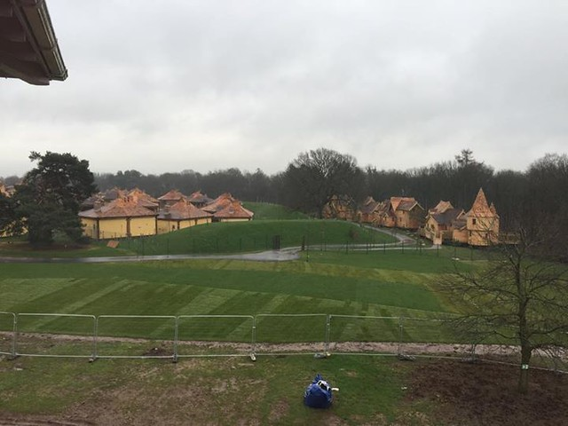 03/04/2015 - The enchanted village is almost ready to open!