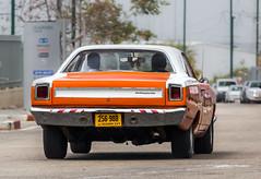 256988 Rear (rOOmUSh) Tags: auto old orange classic car plymouth barracuda holyland1000