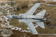 RAF Tornado GR4 'Marham 23' (Tom Dean.) Tags: snow exit tornado gr4 marham23