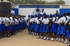 DSC_1146 (Will Margett Photography) Tags: sierraleone africa ebola school kids children blue group freetown topv555