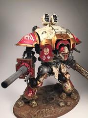 Imperial Knight (nightshadeministudio) Tags: miniatures games 40k workshop warhammer knight 40 titan gw 000