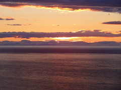 Gamrie Bay 5 (Saf37y) Tags: sunset sea clouds coast scotland aberdeenshire seashore morayfirth gardenstown gamriebay